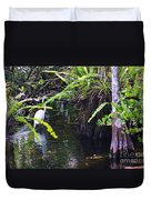 A Walk In The Glades Duvet Cover