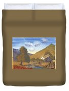 A Walk In The Hills Duvet Cover