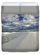 A Walk On The Dunes Duvet Cover
