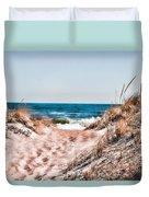 A Walk Out To The Water Duvet Cover