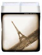 A Walk Through Paris 11 Duvet Cover