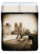 A Walk Through Paris 22 Duvet Cover by Mike McGlothlen