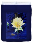 A Waterlily Duvet Cover