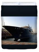 A Weekend Boat Duvet Cover