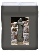 A Welcoming Jesus Duvet Cover