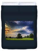 A Welsh Meadow Duvet Cover