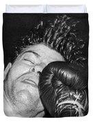 A Welterweight Uppercut Duvet Cover