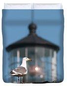 A Western Gull  Larus Occidentalis Duvet Cover