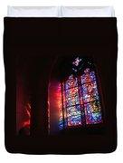 A Window In A Church Duvet Cover