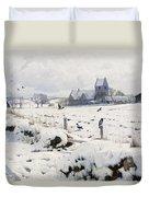 A Winter Landscape Holmstrup Duvet Cover