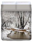 A Winter Walk  Duvet Cover
