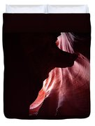 A Wolf In Antelope Canyon Duvet Cover