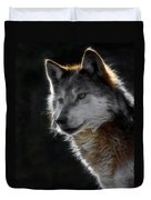 A Wolf 2 Digital Art  Duvet Cover