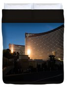 A Wynn And Encore Sunset Duvet Cover