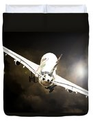 A340 Takeoff Duvet Cover