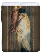 Aaron With The Scroll Of The Law, 1875 Duvet Cover
