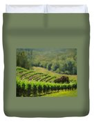 Abacela Vineyard Duvet Cover