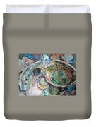 Abalone Grouping Duvet Cover