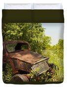 Abandoned Car Duvet Cover