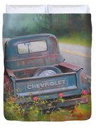 Abandoned Chevy Duvet Cover