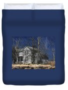 Abandoned Except For Ghosts Duvet Cover