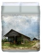 Abandoned Farm Home - Kansas Duvet Cover