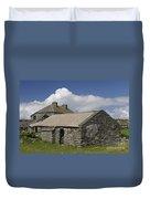 Abandoned Farm In Ireland Duvet Cover