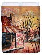 Abandoned Farm Duvet Cover