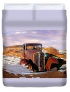 Abandoned For Almost 100 Years On Route 66 Duvet Cover
