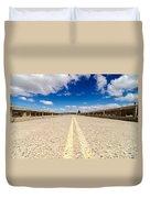 Abandoned Highway Duvet Cover