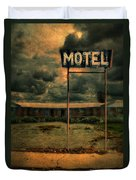 Abandoned Motel Duvet Cover