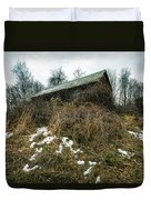 Abandoned Places - Old House - House On The Hill Duvet Cover