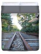Abandoned Railroad 1 Duvet Cover