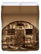 Abandoned Storage Shed Duvet Cover