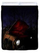 Abandoned Truck Duvet Cover