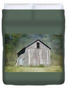 Abandoned Vintage Barn In Illinois Duvet Cover