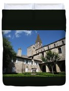 Abbey Church St. Philibert - Tournus Duvet Cover
