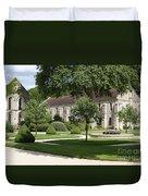 Abbey Fontenay Burgundy Duvet Cover