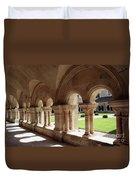 Abbey Fontenay - Cloister Vault  Duvet Cover
