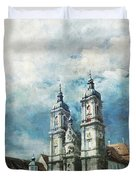Abbey Of St Gall Duvet Cover