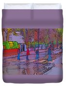 Abbey Road Crossing Duvet Cover