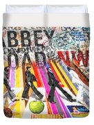 Abbey Road Duvet Cover by Mo T