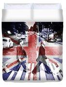 Abbey Road Union Jack Duvet Cover
