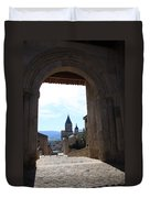 Abbey Through Doorway - Cluny Duvet Cover