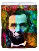 Abe The Broham Lincoln 20140217 Duvet Cover