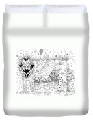 About Wolves And Sheep Duvet Cover