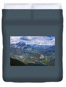 Above Banff Duvet Cover