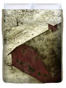 Above The Barn Duvet Cover