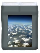 Above The Clouds II Duvet Cover