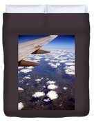 Above The Clouds IIi Duvet Cover